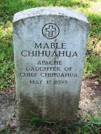 CHIHUAHUA, MABEL - Comanche County, Oklahoma | MABEL CHIHUAHUA - Oklahoma Gravestone Photos