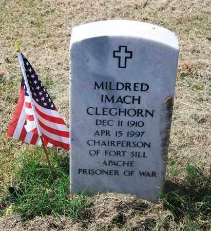 CLEGHORN, MILDRED IMACH - Comanche County, Oklahoma | MILDRED IMACH CLEGHORN - Oklahoma Gravestone Photos