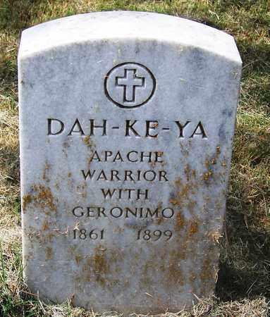 DAH-KE-YA,  - Comanche County, Oklahoma |  DAH-KE-YA - Oklahoma Gravestone Photos