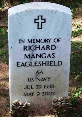 EAGLESHIELD (VETERAN), RICHARD MANGAS - Comanche County, Oklahoma   RICHARD MANGAS EAGLESHIELD (VETERAN) - Oklahoma Gravestone Photos