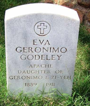 GERONIMO GODLEY, EVA - Comanche County, Oklahoma | EVA GERONIMO GODLEY - Oklahoma Gravestone Photos