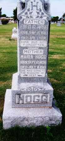 HOGG, FRED G - Comanche County, Oklahoma | FRED G HOGG - Oklahoma Gravestone Photos
