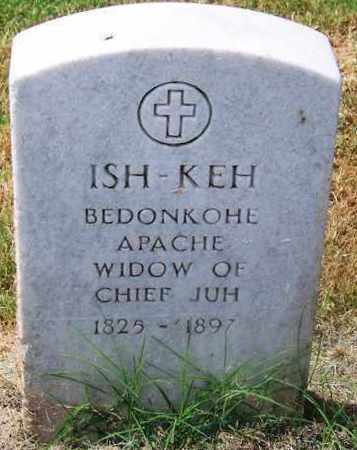 ISH-KEH,  - Comanche County, Oklahoma |  ISH-KEH - Oklahoma Gravestone Photos