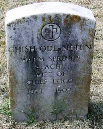 LOCO, CHISH-ODL-NETLN - Comanche County, Oklahoma   CHISH-ODL-NETLN LOCO - Oklahoma Gravestone Photos