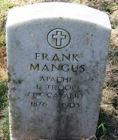 MANGUS (VETERAN), FRANK - Comanche County, Oklahoma | FRANK MANGUS (VETERAN) - Oklahoma Gravestone Photos