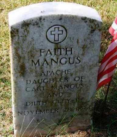 MANGUS, FAITH - Comanche County, Oklahoma | FAITH MANGUS - Oklahoma Gravestone Photos