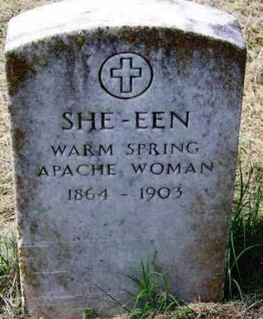 SHE-EEN,  - Comanche County, Oklahoma    SHE-EEN - Oklahoma Gravestone Photos