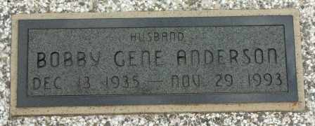 ANDERSON, BOBBY GENE - Craig County, Oklahoma   BOBBY GENE ANDERSON - Oklahoma Gravestone Photos