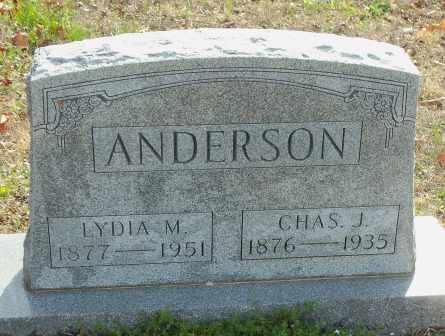 ANDERSON, CHARLES J - Craig County, Oklahoma | CHARLES J ANDERSON - Oklahoma Gravestone Photos