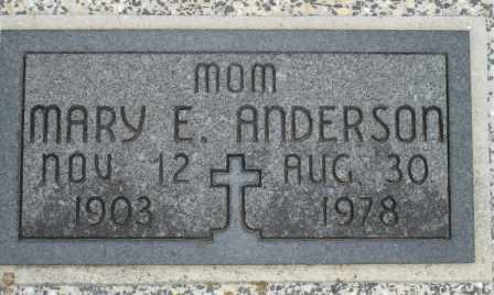ANDERSON, MARY E - Craig County, Oklahoma   MARY E ANDERSON - Oklahoma Gravestone Photos