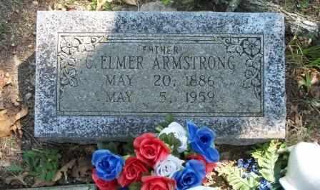 ARMSTRONG, C ELMER - Craig County, Oklahoma   C ELMER ARMSTRONG - Oklahoma Gravestone Photos