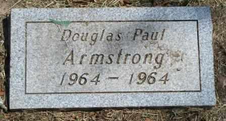 ARMSTRONG, DOUGLAS PAUL - Craig County, Oklahoma   DOUGLAS PAUL ARMSTRONG - Oklahoma Gravestone Photos