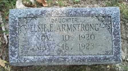 ARMSTRONG, ELSIE E - Craig County, Oklahoma | ELSIE E ARMSTRONG - Oklahoma Gravestone Photos