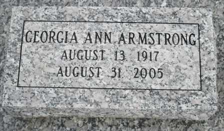 ARMSTRONG, GEORGIA ANN - Craig County, Oklahoma | GEORGIA ANN ARMSTRONG - Oklahoma Gravestone Photos