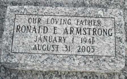 ARMSTRONG, RONALD E - Craig County, Oklahoma | RONALD E ARMSTRONG - Oklahoma Gravestone Photos