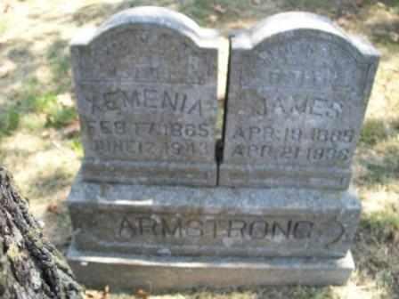 ARMSTRONG, XEMENIA - Craig County, Oklahoma   XEMENIA ARMSTRONG - Oklahoma Gravestone Photos