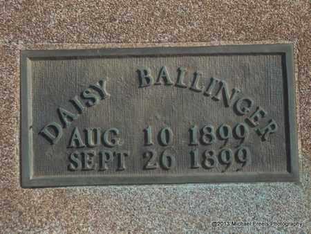 BALLINGER, DAISY - Craig County, Oklahoma   DAISY BALLINGER - Oklahoma Gravestone Photos