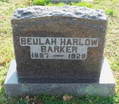 BARKER, BEULAH - Craig County, Oklahoma | BEULAH BARKER - Oklahoma Gravestone Photos
