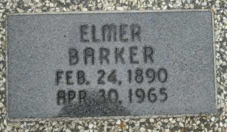 BARKER, ELMER - Craig County, Oklahoma   ELMER BARKER - Oklahoma Gravestone Photos