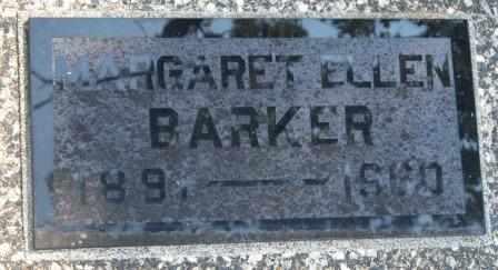 BARKER, MARGARET ELLEN - Craig County, Oklahoma   MARGARET ELLEN BARKER - Oklahoma Gravestone Photos
