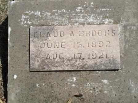 BROOKS, CLAUD A - Craig County, Oklahoma | CLAUD A BROOKS - Oklahoma Gravestone Photos