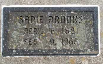 BROOKS, SADIE L - Craig County, Oklahoma | SADIE L BROOKS - Oklahoma Gravestone Photos