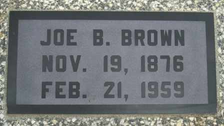 BROWN, JOE B - Craig County, Oklahoma | JOE B BROWN - Oklahoma Gravestone Photos