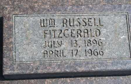 FITZGERALD, WILLIAM RUSSELL - Craig County, Oklahoma | WILLIAM RUSSELL FITZGERALD - Oklahoma Gravestone Photos