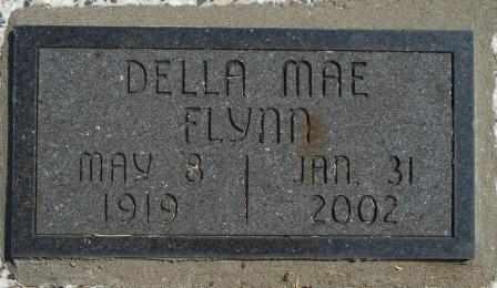 LONG FLYNN, DELLA MAE - Craig County, Oklahoma | DELLA MAE LONG FLYNN - Oklahoma Gravestone Photos