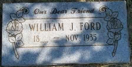 FORD, WILLIAM J - Craig County, Oklahoma | WILLIAM J FORD - Oklahoma Gravestone Photos