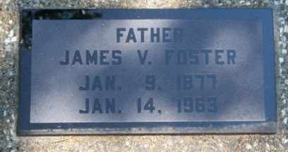 FOSTER, JAMES V - Craig County, Oklahoma   JAMES V FOSTER - Oklahoma Gravestone Photos