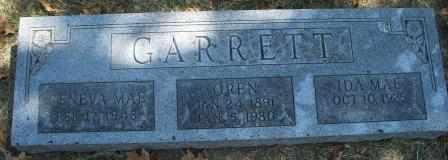 GARRETT, OREN - Craig County, Oklahoma   OREN GARRETT - Oklahoma Gravestone Photos