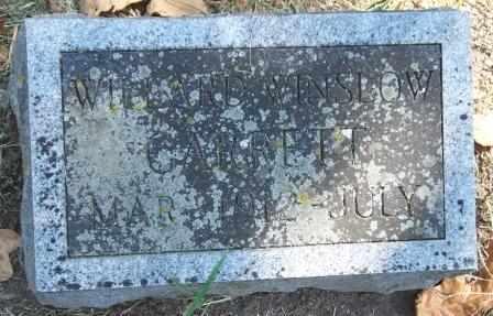 GARRETT, WILLARD WINSLOW - Craig County, Oklahoma | WILLARD WINSLOW GARRETT - Oklahoma Gravestone Photos