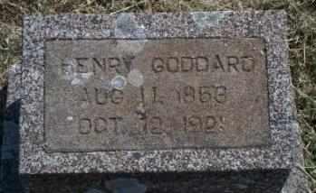 GODDARD, HENRY - Craig County, Oklahoma   HENRY GODDARD - Oklahoma Gravestone Photos