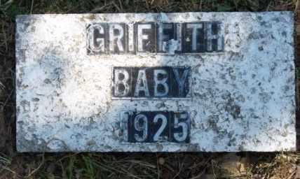 GRIFFITH, BABY - Craig County, Oklahoma | BABY GRIFFITH - Oklahoma Gravestone Photos