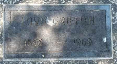 GRIFFITH, LOYD - Craig County, Oklahoma   LOYD GRIFFITH - Oklahoma Gravestone Photos