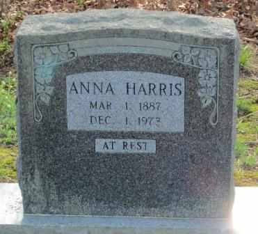 HARRIS, ANNA - Craig County, Oklahoma   ANNA HARRIS - Oklahoma Gravestone Photos