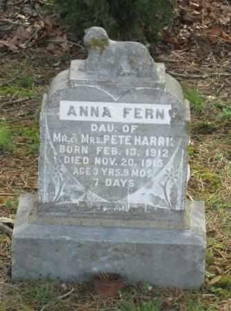 HARRIS, ANNA FERN - Craig County, Oklahoma   ANNA FERN HARRIS - Oklahoma Gravestone Photos