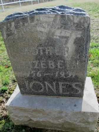 JONES, ELIZABETH - Craig County, Oklahoma | ELIZABETH JONES - Oklahoma Gravestone Photos