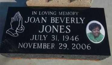 JONES, JOAN - Craig County, Oklahoma | JOAN JONES - Oklahoma Gravestone Photos