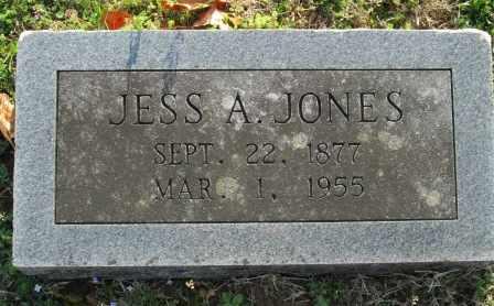 JONES, JESS A - Craig County, Oklahoma | JESS A JONES - Oklahoma Gravestone Photos