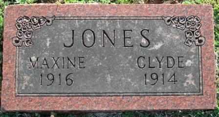JONES, MAXINE - Craig County, Oklahoma | MAXINE JONES - Oklahoma Gravestone Photos