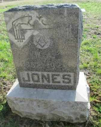 JONES, W A - Craig County, Oklahoma | W A JONES - Oklahoma Gravestone Photos
