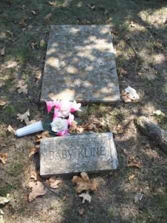 KLINE, BABY - Craig County, Oklahoma   BABY KLINE - Oklahoma Gravestone Photos