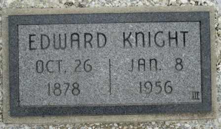 KNIGHT, EDWARD - Craig County, Oklahoma | EDWARD KNIGHT - Oklahoma Gravestone Photos