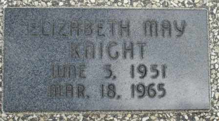 KNIGHT, ELIZABETH MAY - Craig County, Oklahoma | ELIZABETH MAY KNIGHT - Oklahoma Gravestone Photos