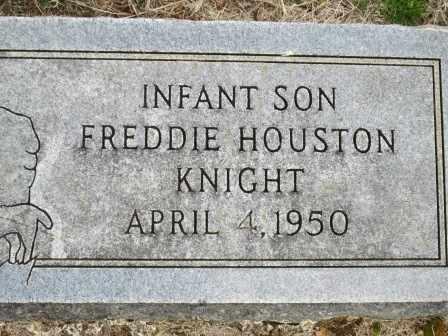 KNIGHT, FREDDIE HOUSTON - Craig County, Oklahoma | FREDDIE HOUSTON KNIGHT - Oklahoma Gravestone Photos