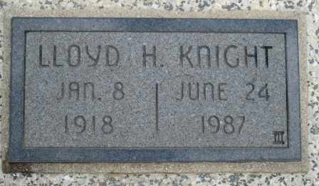 KNIGHT, LLOYD H - Craig County, Oklahoma | LLOYD H KNIGHT - Oklahoma Gravestone Photos