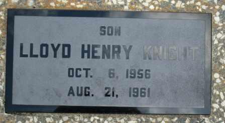 KNIGHT, LLOYD HENRY - Craig County, Oklahoma   LLOYD HENRY KNIGHT - Oklahoma Gravestone Photos