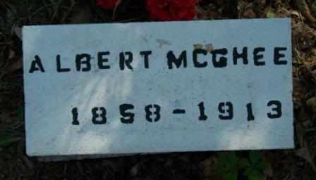 MCGHEE, ALBERT - Craig County, Oklahoma   ALBERT MCGHEE - Oklahoma Gravestone Photos